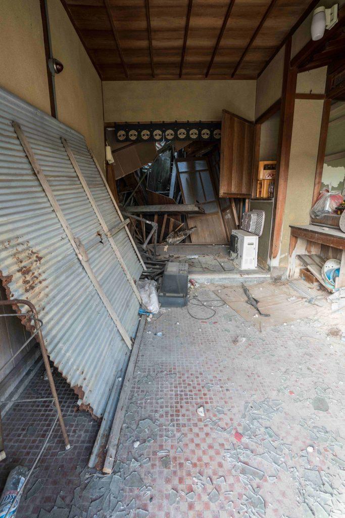 大和郡山 東岡遊郭 2階建て玄関