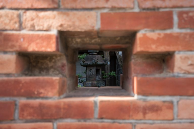 関宿 煉瓦の建物