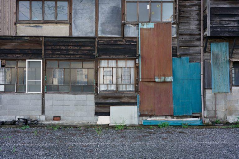 菡萏遊郭 建物側面